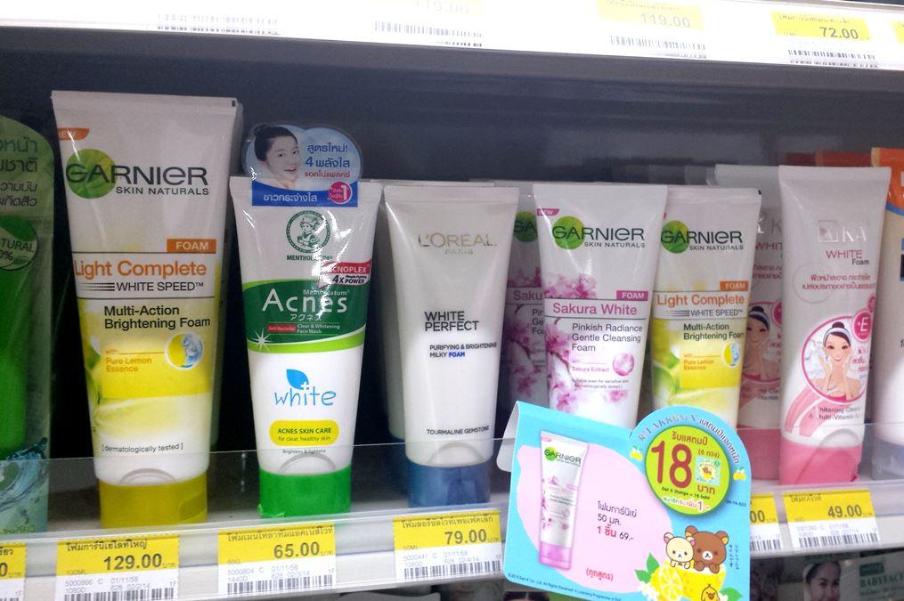 weiße Haut um jeden Preis, der Trend in Asien