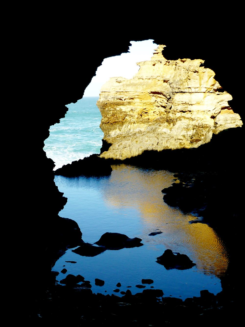 Felsformation an der Great Ocean Road