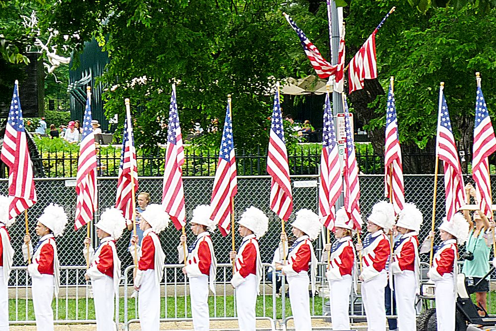 Memorial Day Parade in Washington D.C.