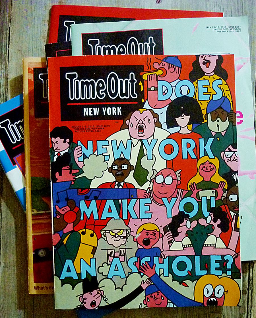 Time Out Magazin NYC