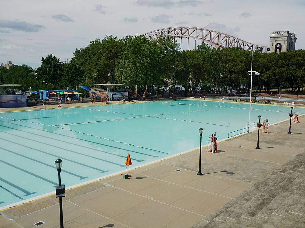 Astoria Pool in Queens, New York