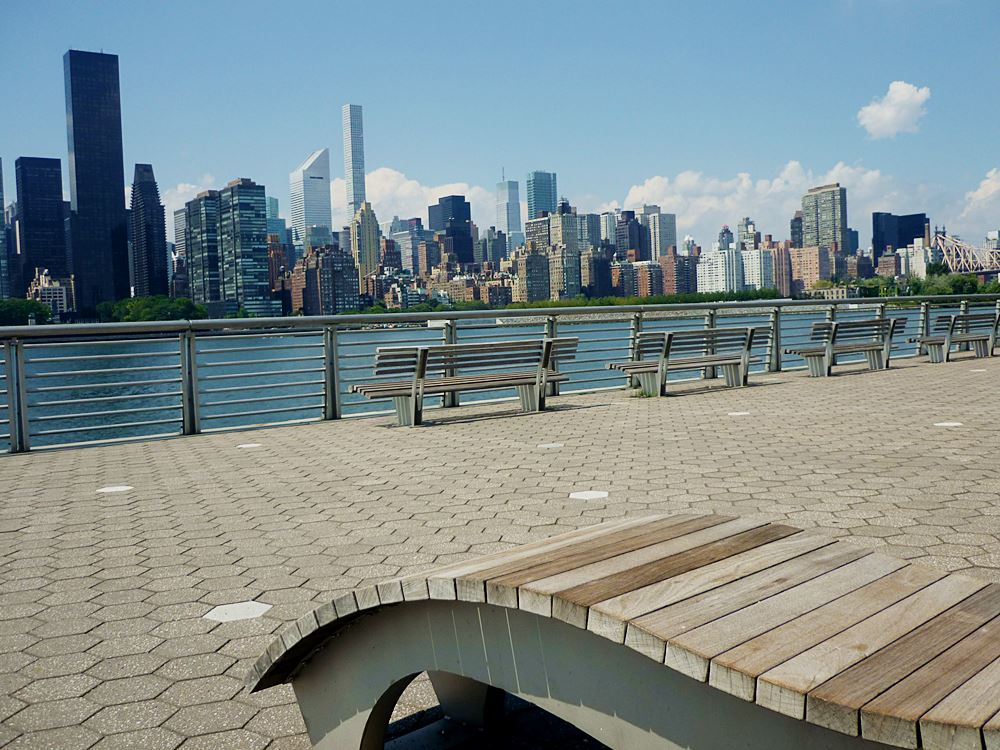 Blick von Long Island City