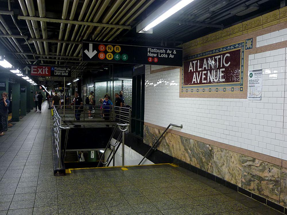 U-Bahn-Geschichten aus New York City