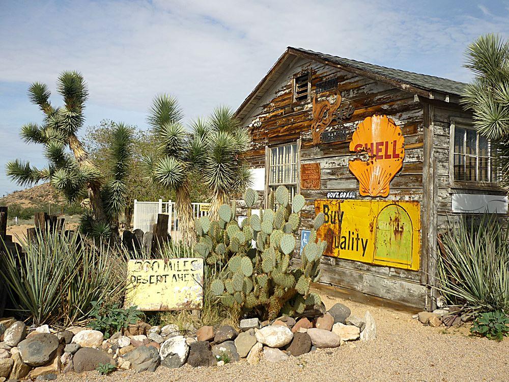 Geisterstädte entlang der Route 66 Arizona