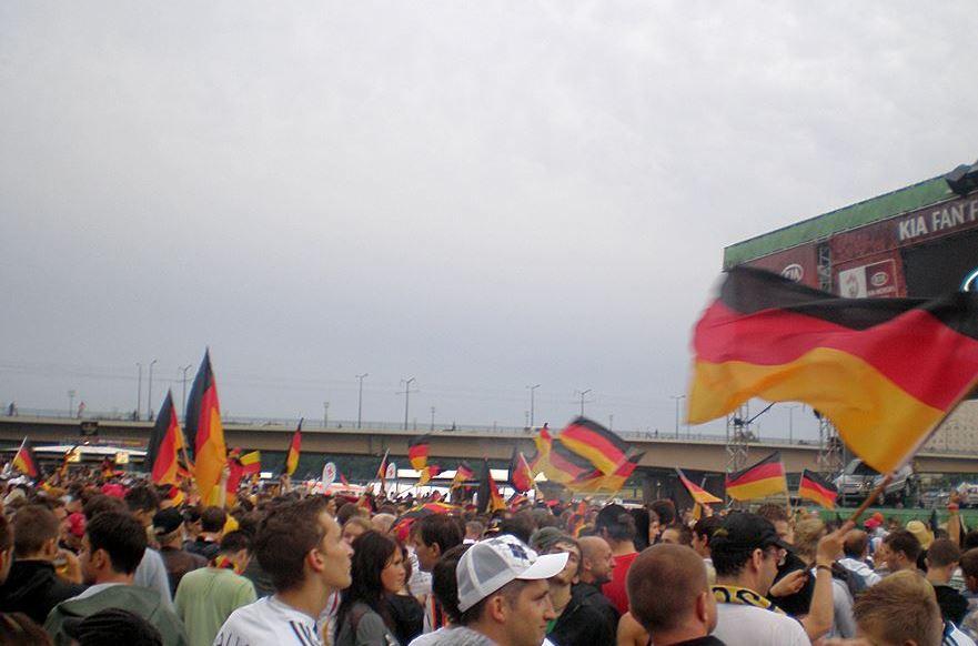 Patriotismus Verbund zum Vaterland