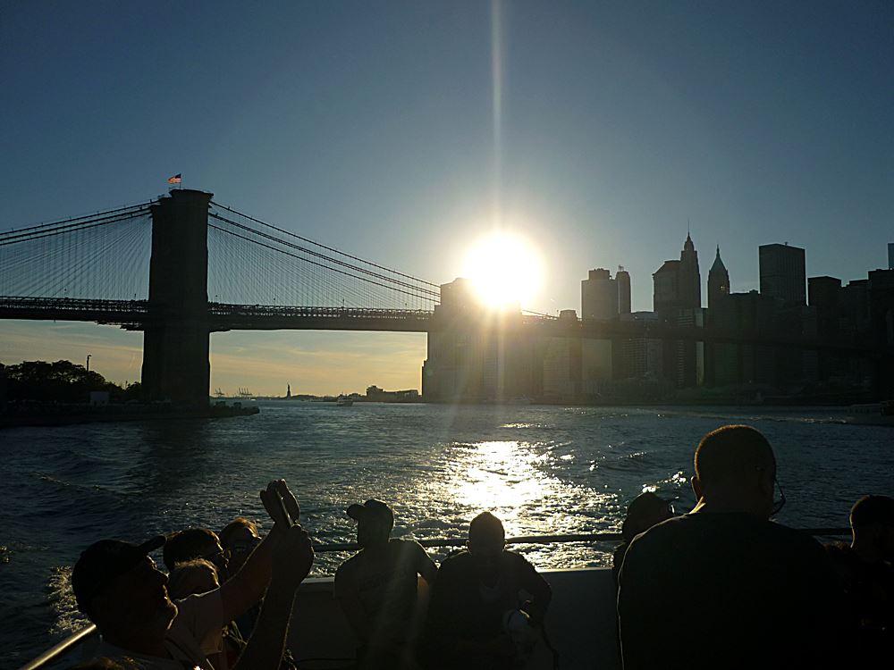 NYC-bei-Sonnenuntergang