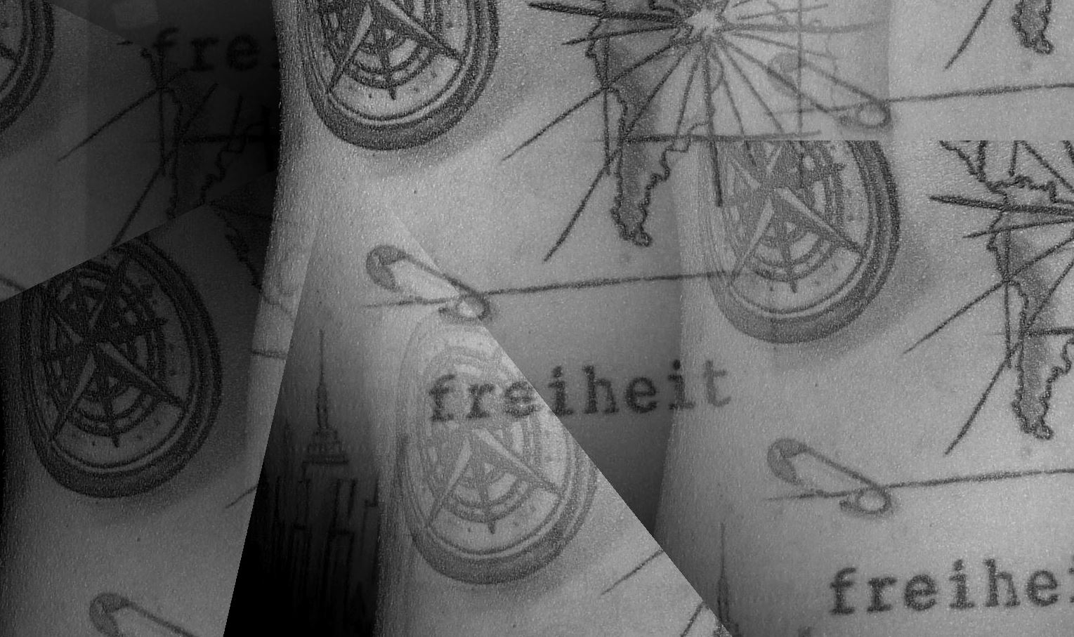 Tattoo mit Reisemotiven