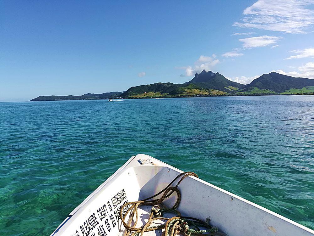 Bootsausflug auf Ile aux Cerfs