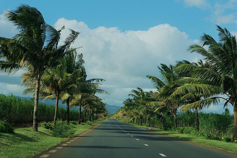 Fahrt im Süden Mauritius