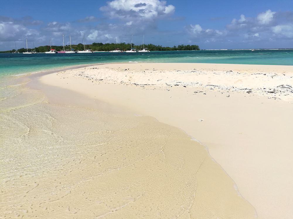 Strand von Gabriel Island im Norden Mauritius