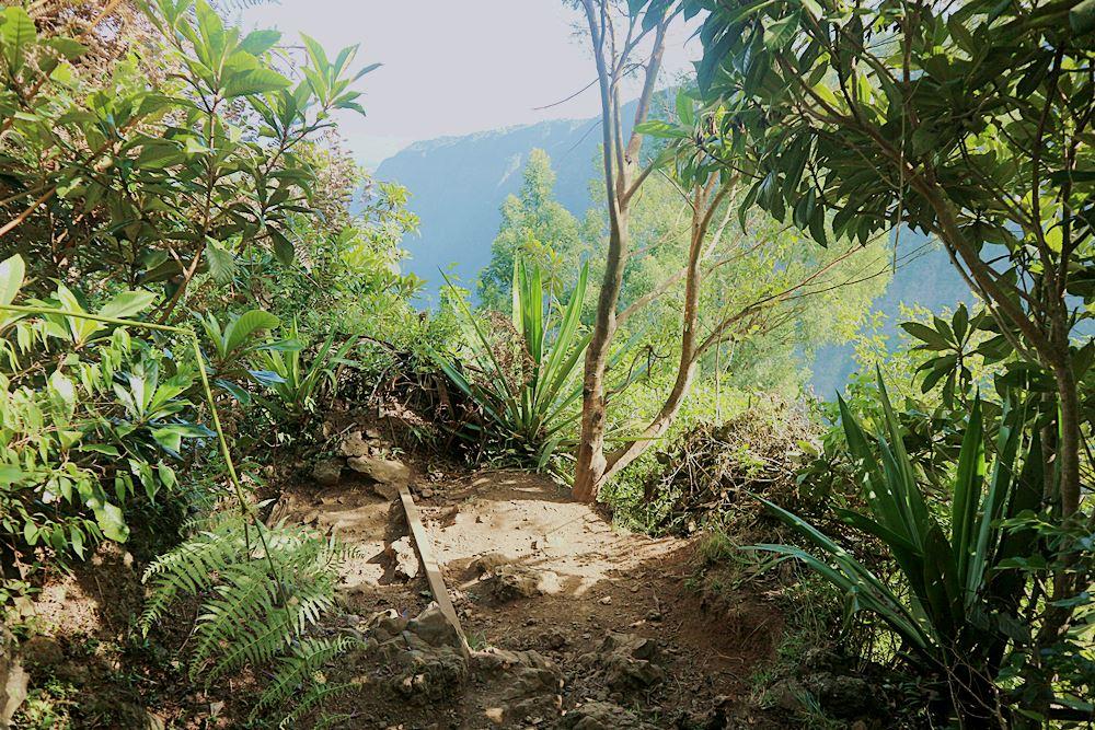 Wandern auf Reunion Island