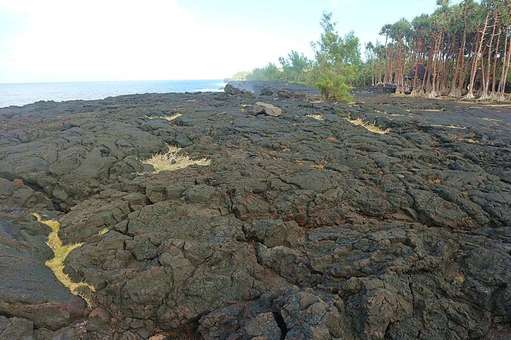 Lava auf La Reunion
