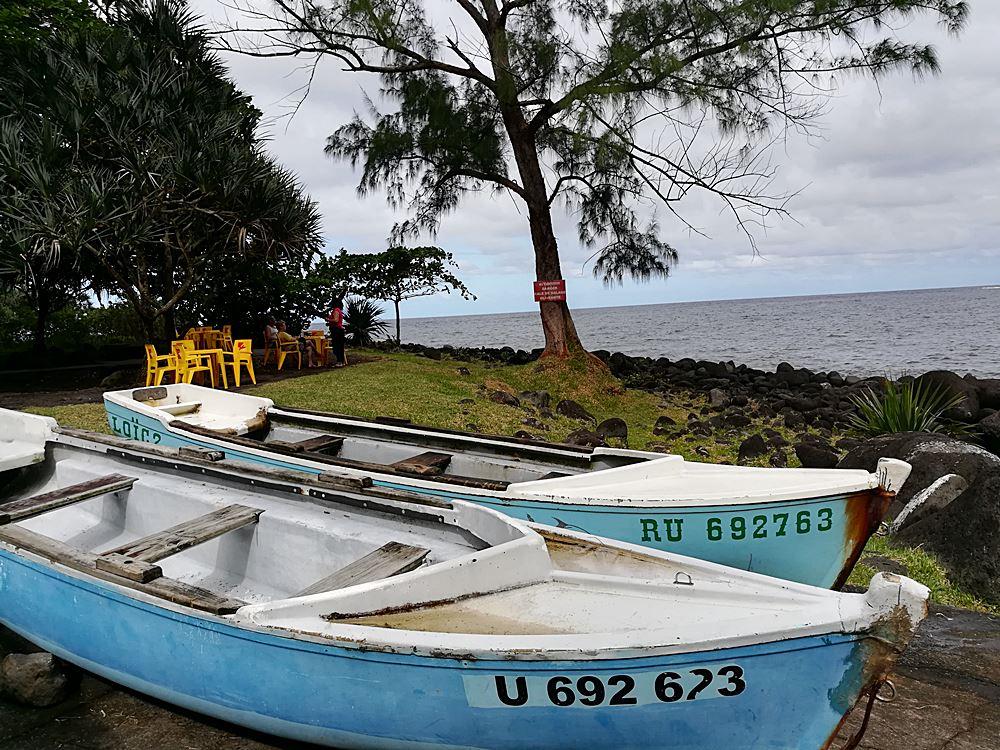 Boote auf Reunion