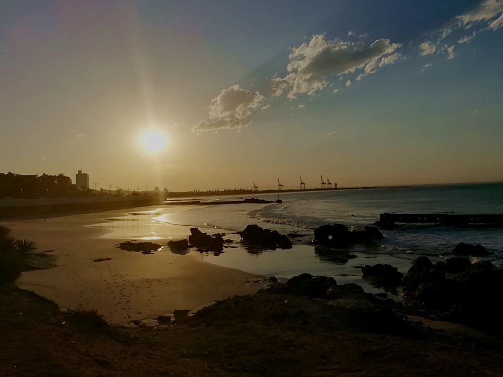 Sonnenuntergang-in-Port-Elizabeth
