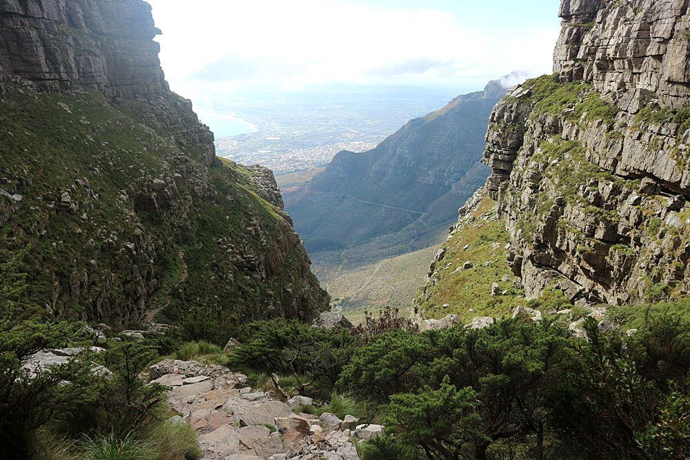 auf den Tafelberg