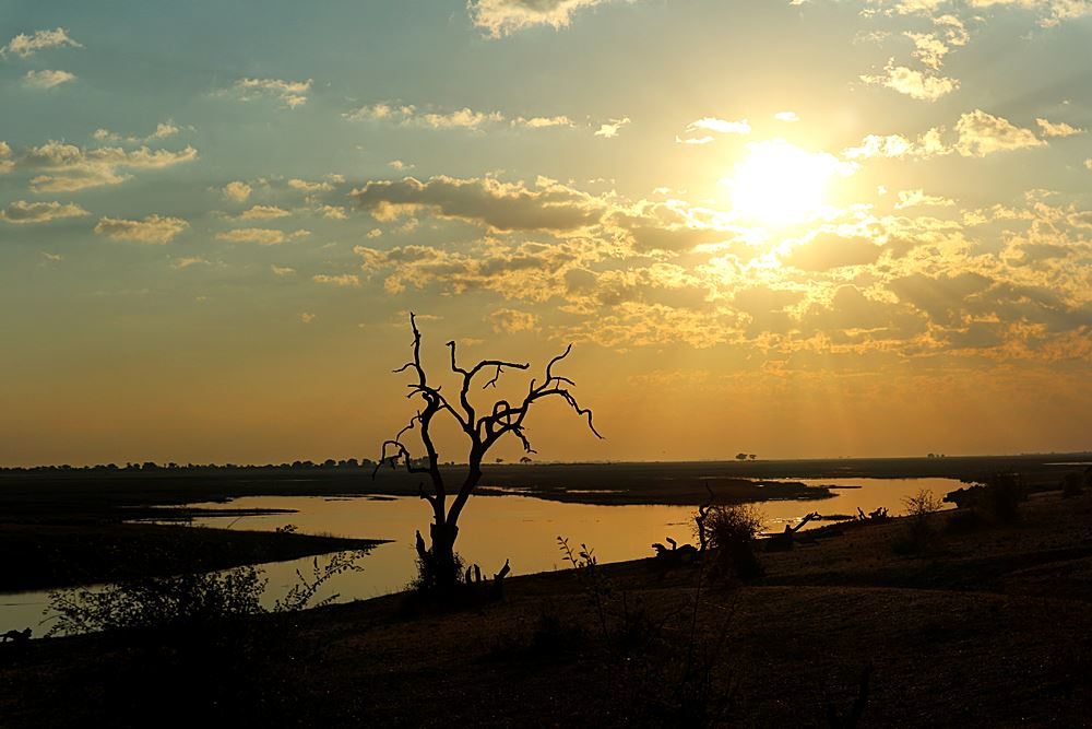 Chobe National Park Sonnenaufgang