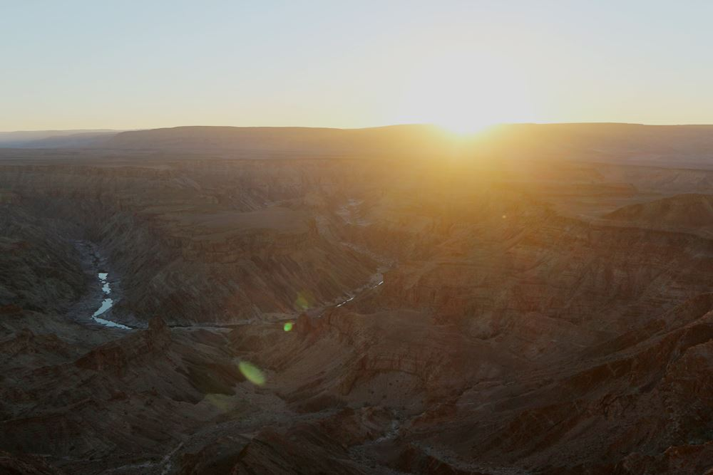 Fish River Canyon Sonnenuntergang