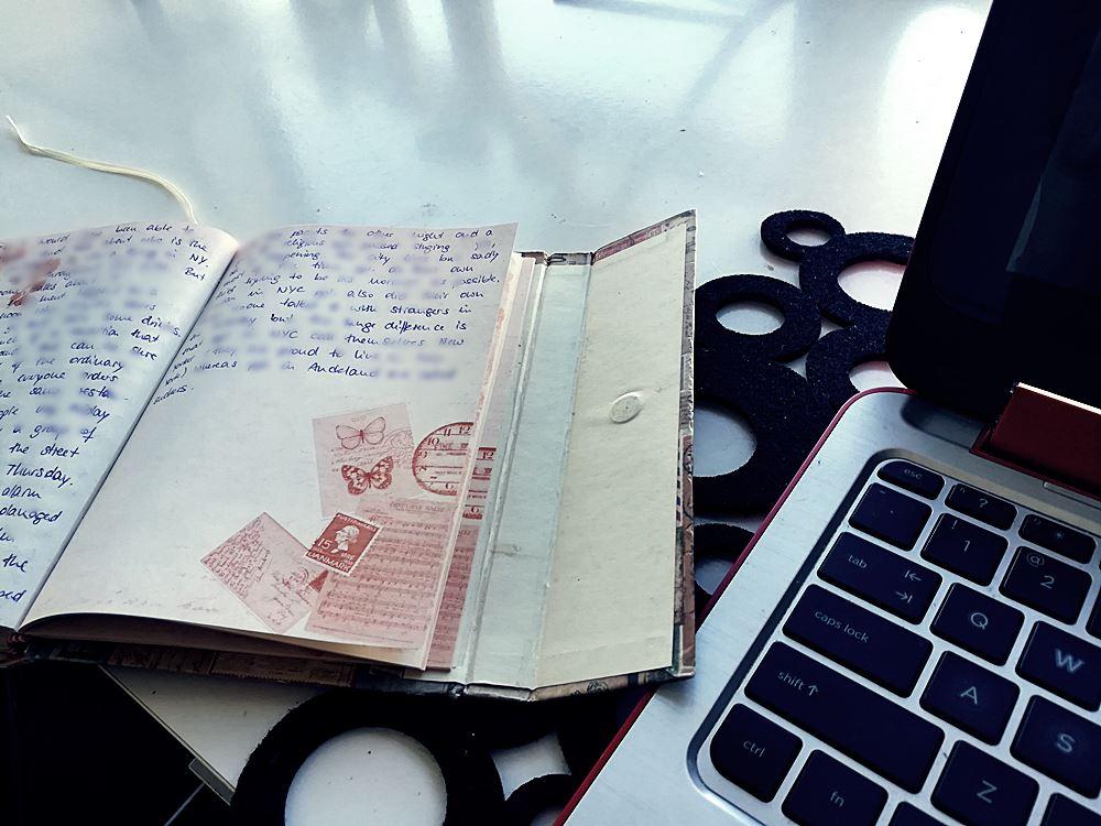 Tagebucheintrag ueber Neuseeland