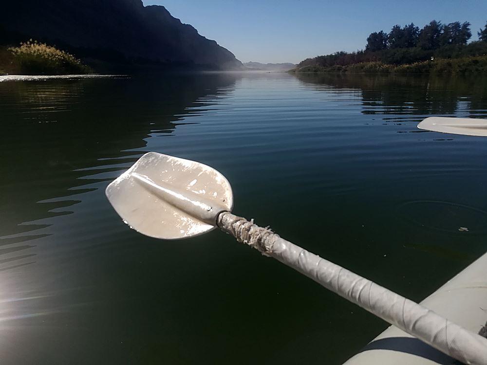 Kanufahrt Fish River Namibia