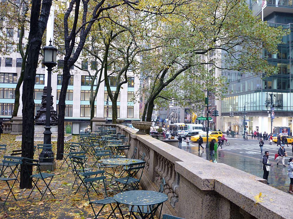 New York City im Regen