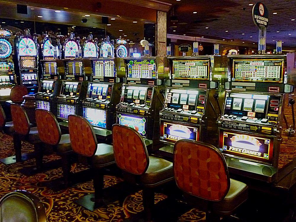 Casino von Innen in Las Vegas