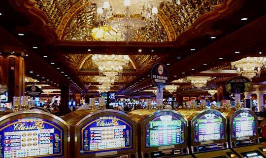 Spielmaschinen in Las Vegas