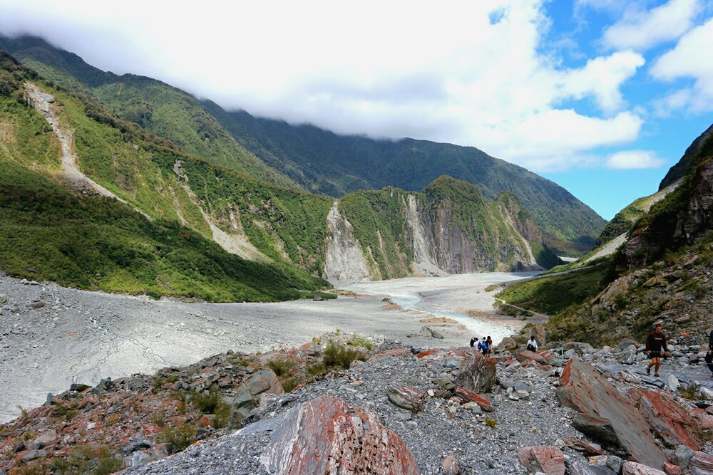 Fox Gletscher Westkueste Neuseeland