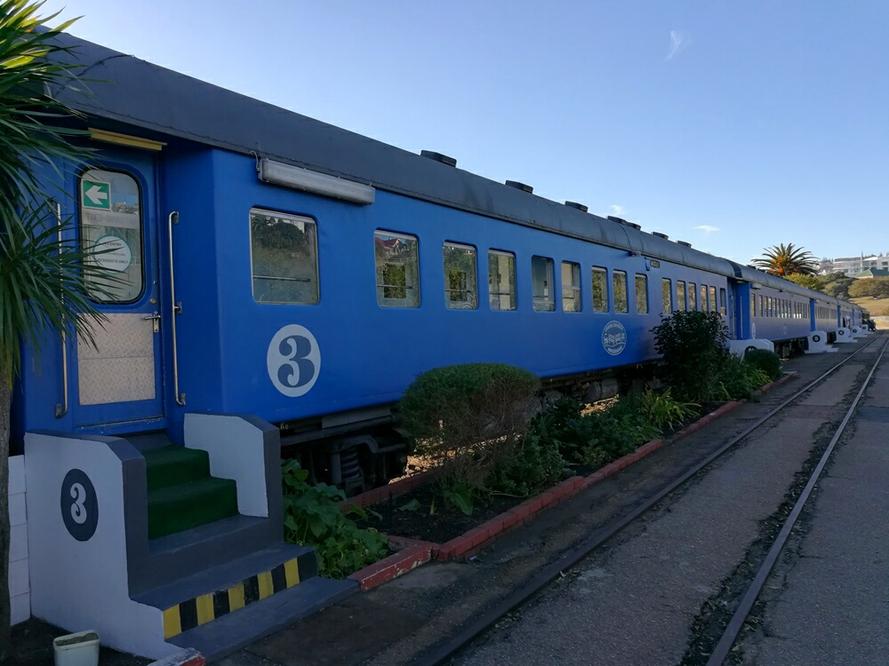 Zug in Mossel Bay