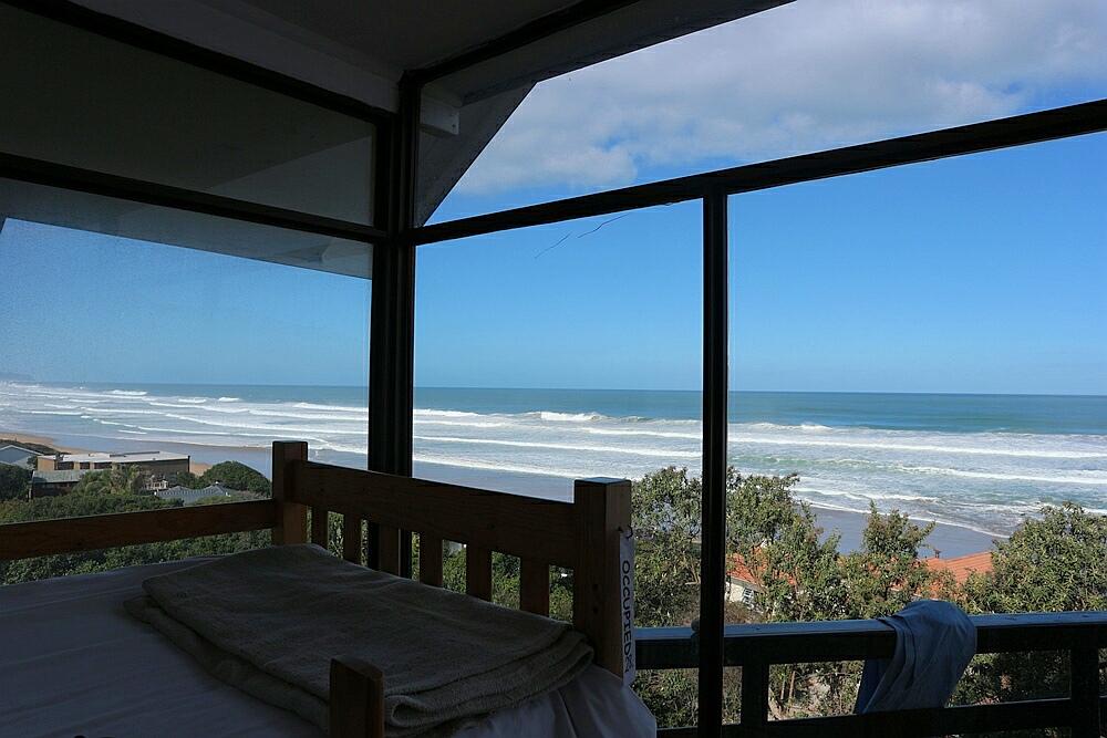 Hostel mit Blick aufs Meer