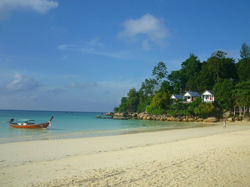 Hostel auf Kho Lipe Thailand