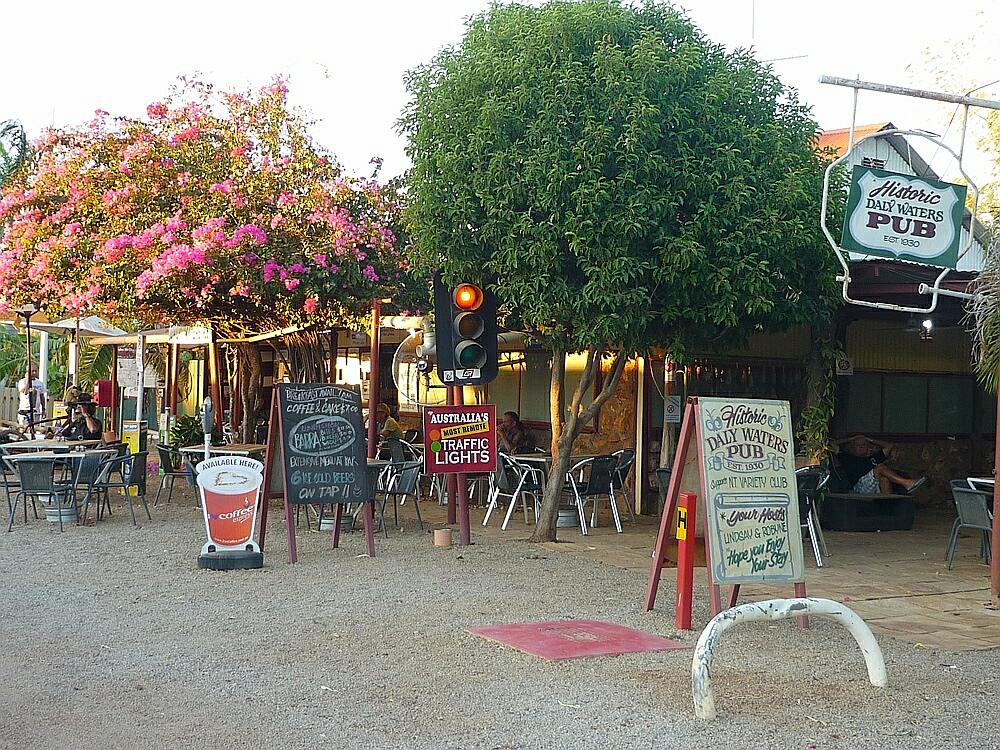 Pub im australischen Outback