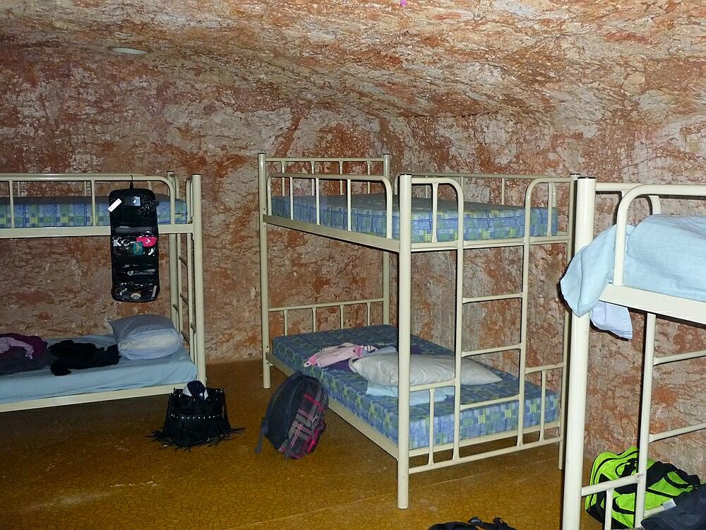 Hostel in einer Opalhoehle
