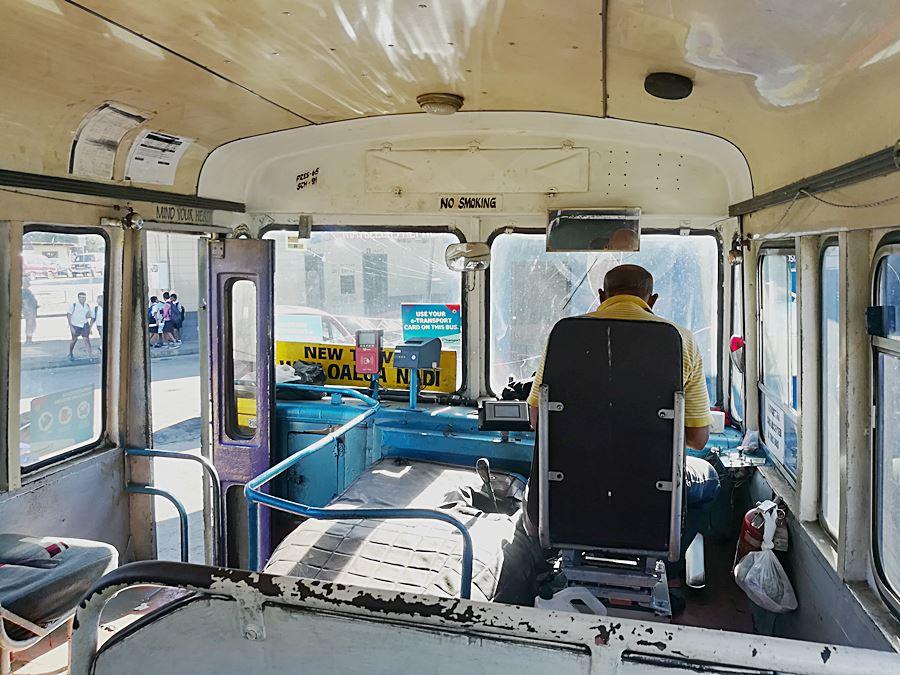 Busfahren auf Fidschi