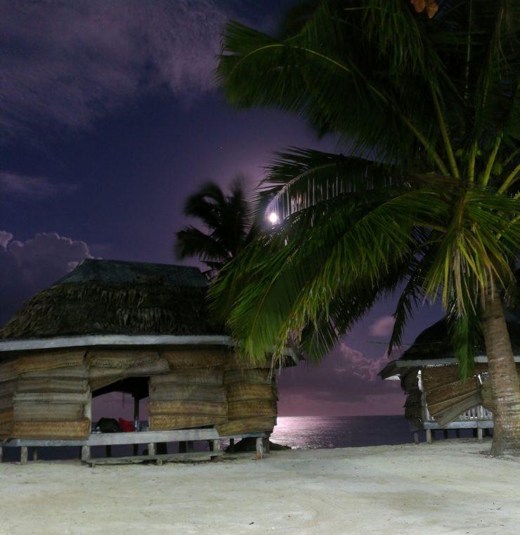 Schlafen am Meer in Samoa
