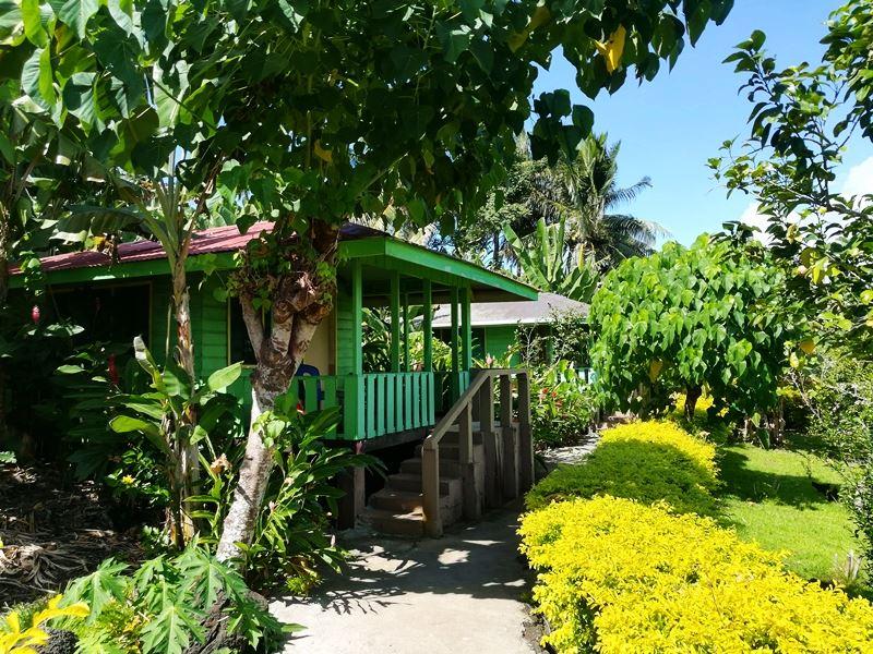Fale in Manono Island