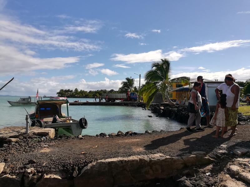 Manono Piers in Samoa