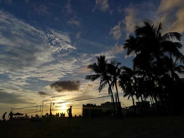 Beach Volleyball in Hawaii