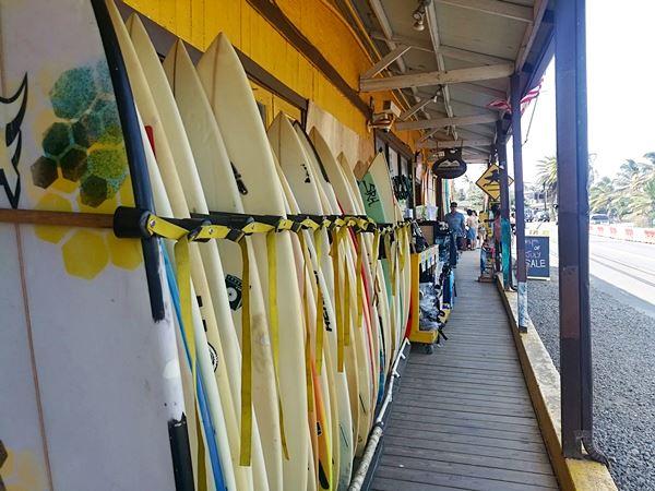 Surfen auf Hawaii