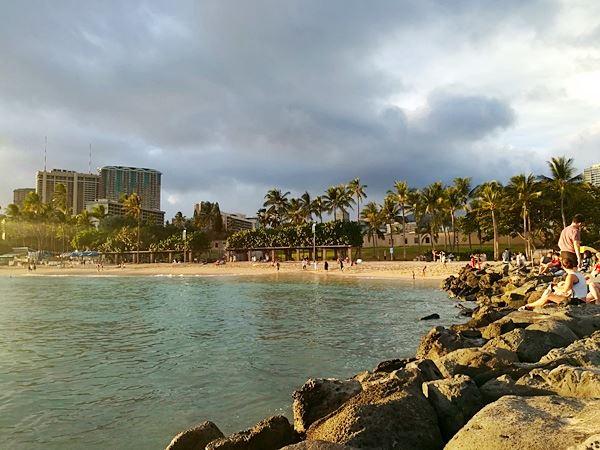 Waikiki in Hawaii