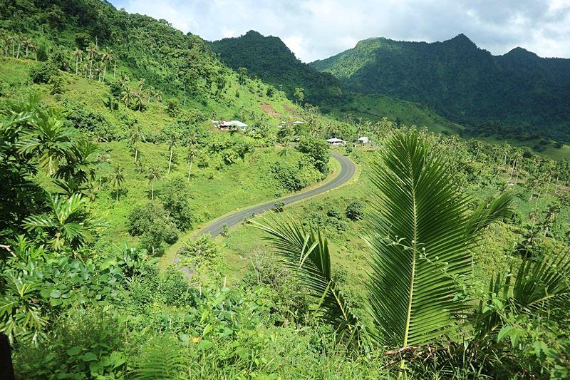 Fahrt durch Westsamoa