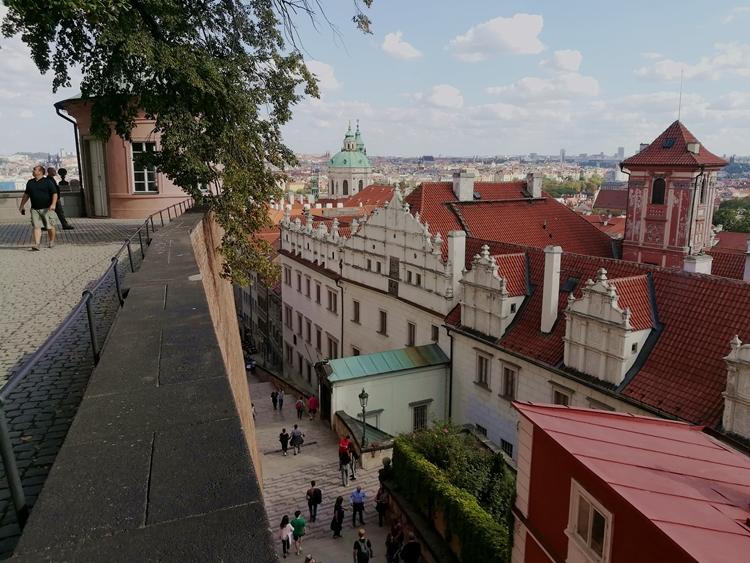 Blick über die Gassen in Praha