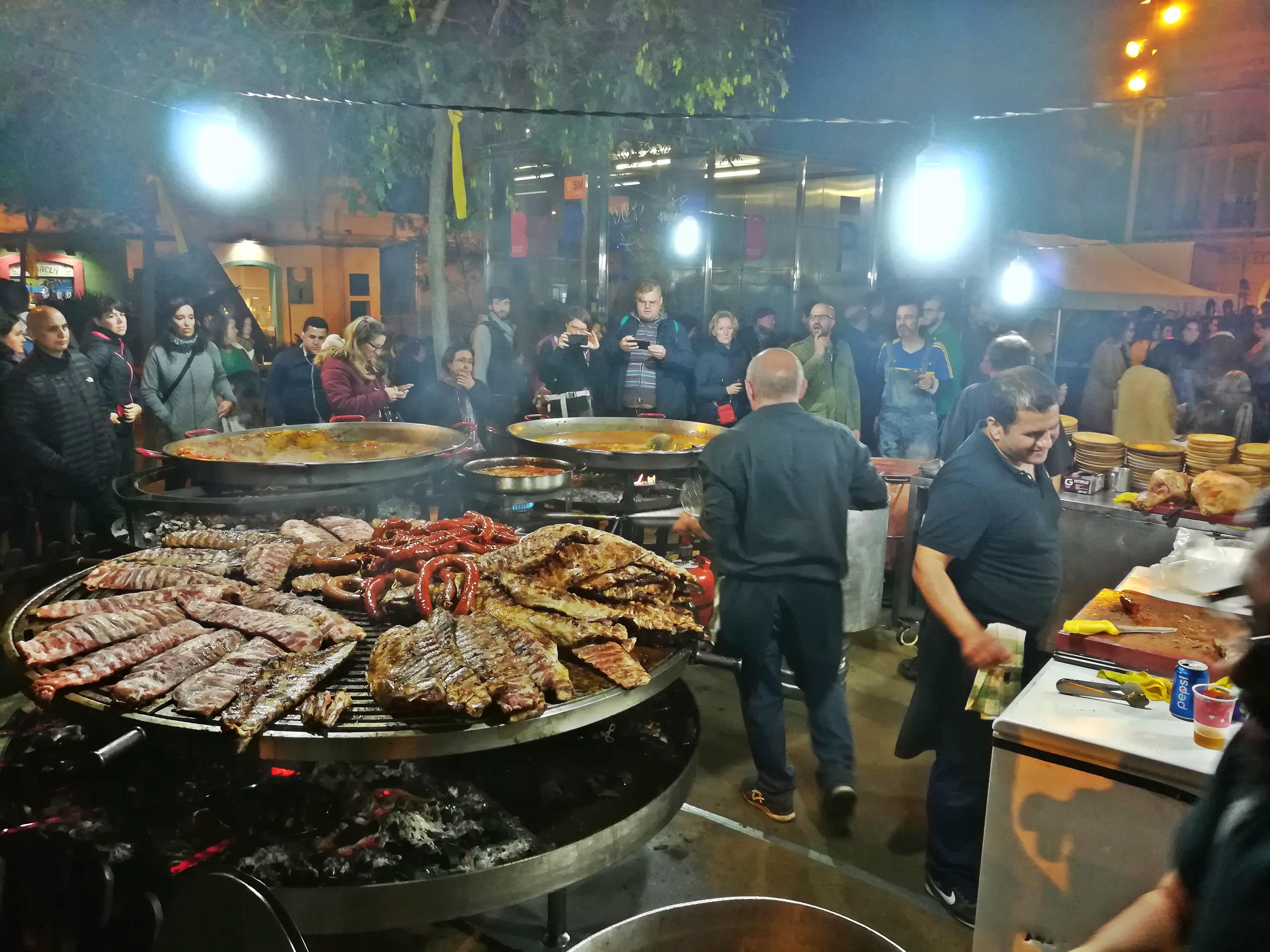 Paella Reis Spanien