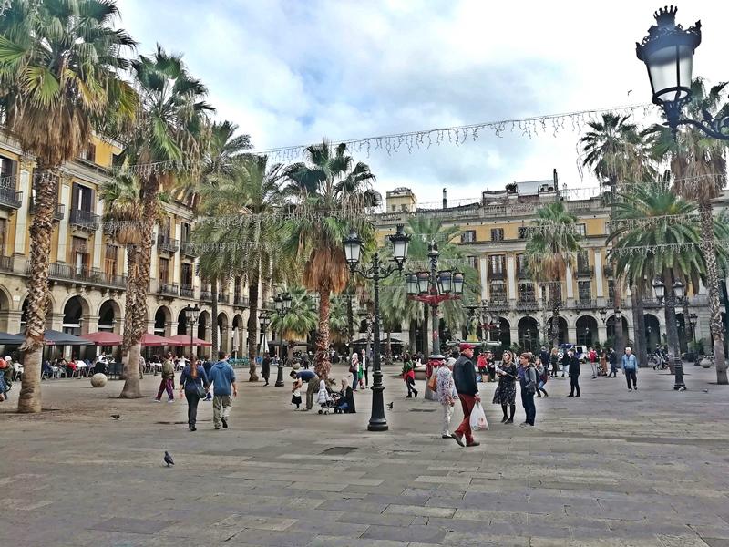 Barcelona Markttreiben