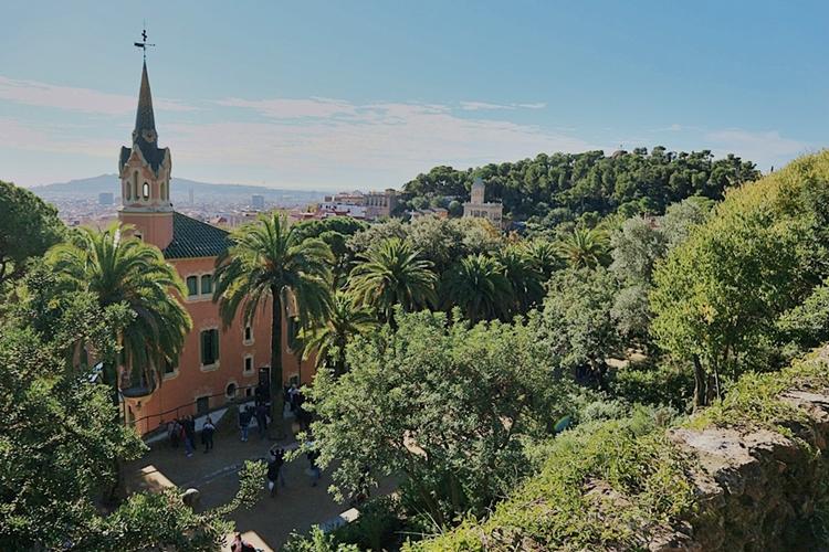 Güell Gaudi Park Barcelona