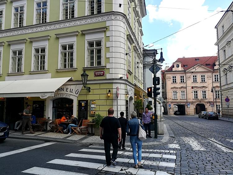 Strasse in Praha