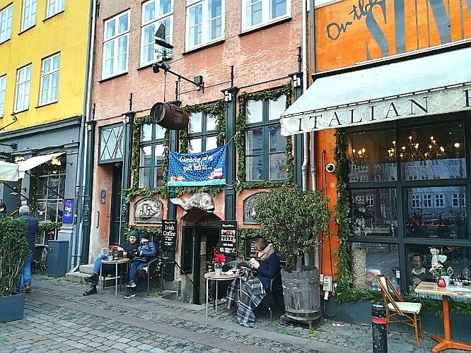 Nyhavn Daenemarkt Winter