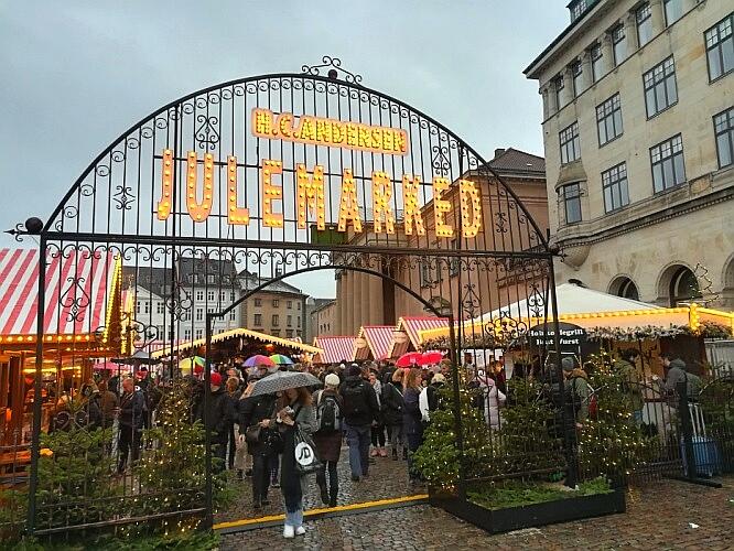 Julemarket Kopenhagen