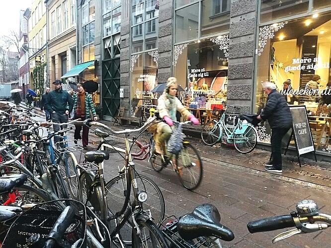Kopenhagen Fahrradfahren