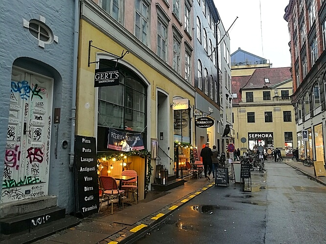 Kopenhagen einkaufen Winter