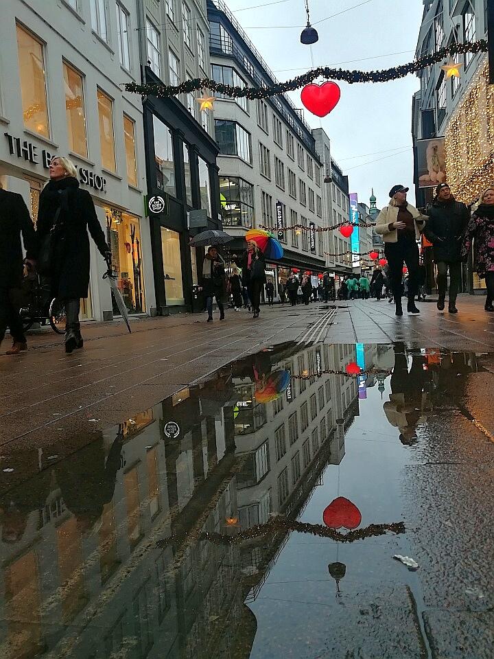 Einkaufsstrasse Kopenhagen